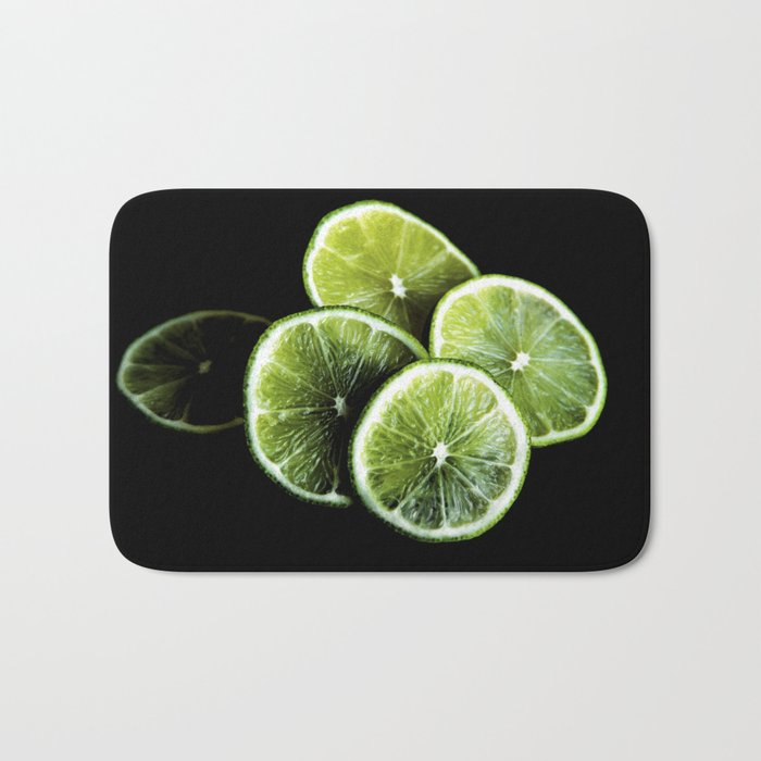 lemon lima Bath Mat
