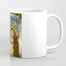 "Marie Spartali Stillman ""The Childhood of Saint Cecilia"" Coffee Mug"