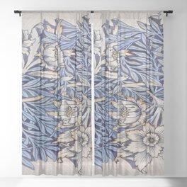 Art work of William Morris 4 Sheer Curtain