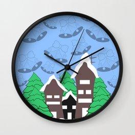 Christmas fantasy Wall Clock