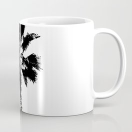 Black & White Palm Coffee Mug