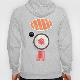 Jiro dreams of sushi, David Gelb, film documentary poster, Sukiyabashi Jiro Ono Hoody