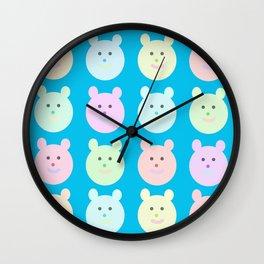 Ositos Wall Clock