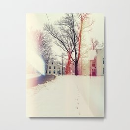 warm winter Metal Print