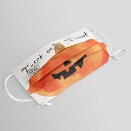 Trick or Treat Jack-O-Lantern, Halloween Pumpkin Face Mask