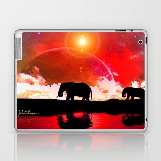 Elephants among the stars Laptop & iPad Skin