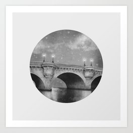 Bridge Over Calm Waters Art Print