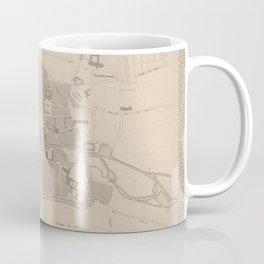 Vintage Map of Rennes France (1829) Coffee Mug