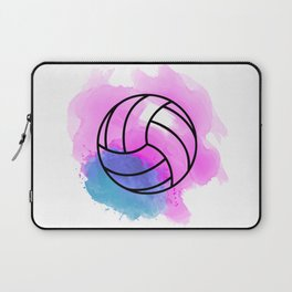 Volleyball Watercolor Laptop Sleeve