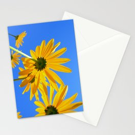 yellow coneflower IV Stationery Cards