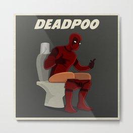DEADPOO Metal Print