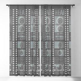 David 3 Sheer Curtain