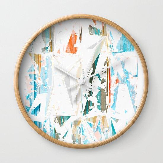 Splinters Wall Clock