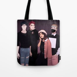 airport fashion phan&melix Tote Bag