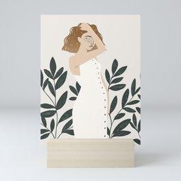 summer linen Mini Art Print
