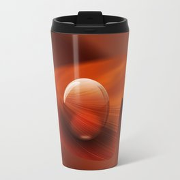 Orange Ball Travel Mug