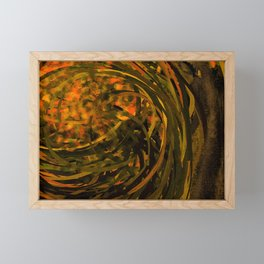 Forest No4 DA Framed Mini Art Print