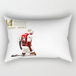 Thierry henry - The invincibles Rectangular Pillow