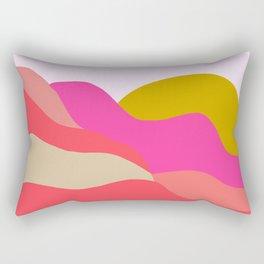 Adelaida, mountain sunset Rectangular Pillow