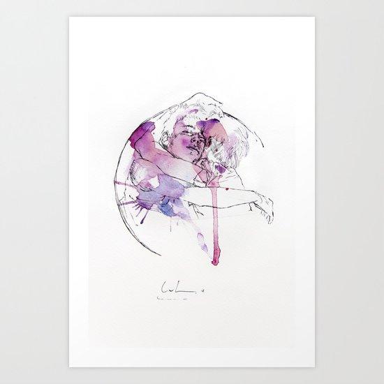 circles - brothers Art Print