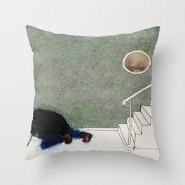 The Monster Series (6/8) Throw Pillow