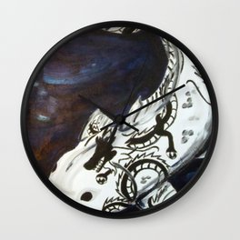 Dragonmarked Wall Clock