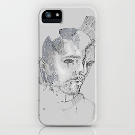 Face Map iPhone Case