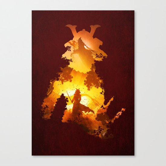 Final Duel Canvas Print