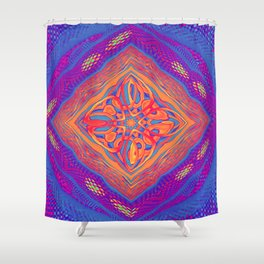 Colourful Weave Shower Curtain