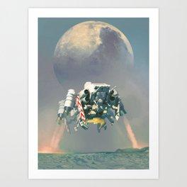 Landing Sequence Art Print