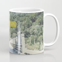 never stop exploring Mugs featuring Never Stop Exploring by Louise