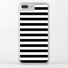 line by line Clear iPhone Case