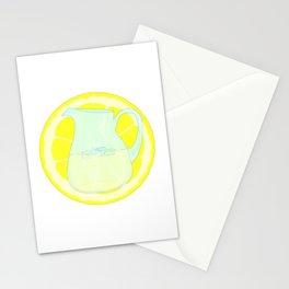 Lemonade With Slice Stationery Cards