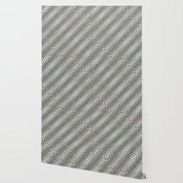 Diagonal Striped Print Pattern Wallpaper