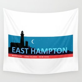 East Hampton - Long Island. Wall Tapestry