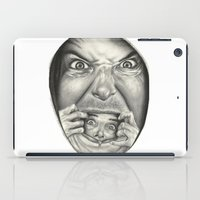 fear iPad Cases featuring Fear by Magdalena Almero