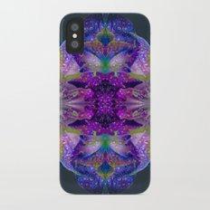 Tropical Hues in Dew Slim Case iPhone X