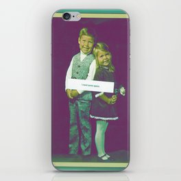 I need some space. iPhone Skin