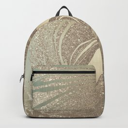 Mermaid Gold Wave 2 Backpack