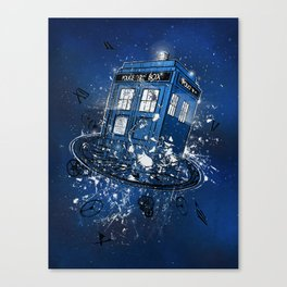 Breaking the Time Canvas Print