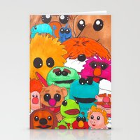 muppet Stationery Cards featuring Muppet Doodle Jam! by Orangeblowfish