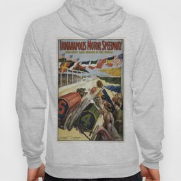 Vintage poster - Indianapolis Motor Speedway Hoody