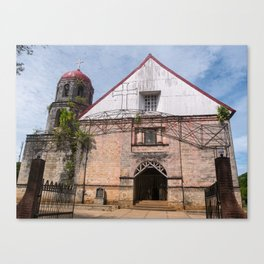 San Isidro Labrador Church, Siquijor Island, Philippines Canvas Print
