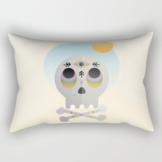 Magic Skull Rectangular Pillow