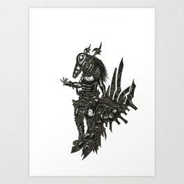 Staggart Art Print