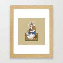 Sri Guru Amar Das Ji Framed Art Print