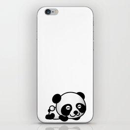 Cute Baby Panda iPhone Skin