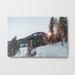 Mountains of Austria Metal Print