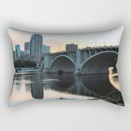 Stay Outside Rectangular Pillow