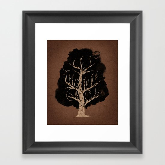 Let The Tree Grow Framed Art Print